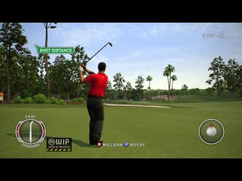 Tiger Woods PGA TOUR® 13 ALL New Total Swing Control