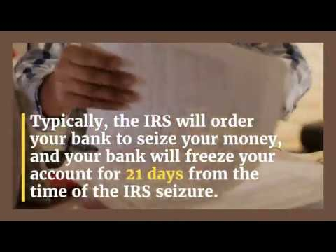 IRS Bank Levy Release | Tax Debt Help } Flat Fee Tax Relief
