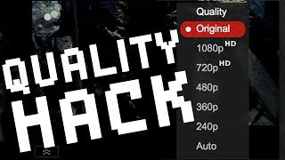 YOUTUBE HACK: How to get BETTER QUALITY 1080p Uploads! - But is it worth it?