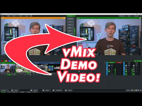 vMix Tutorial- General Overview and Demo. Learn about vMix and creating awesome live productions.
