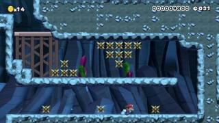 "Speedrun ""40 Seconds"" (o~o) Easy:Beating Super Mario Maker's Super Expert Levels!"