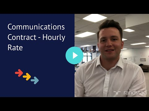 Communications Contract - Hourly Rate