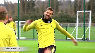 Tottenham Training pre Juventus