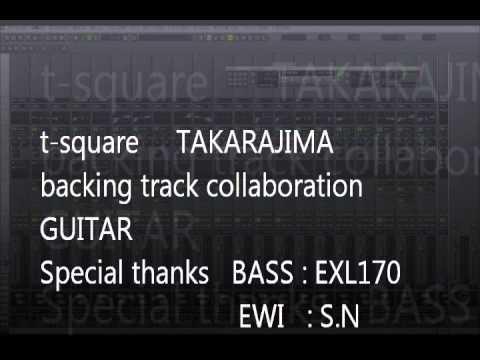 t square takarajima backing track guitar