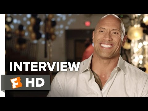 Central Intelligence Interview - Dwayne Johnson (2016) - Comedy Movie HD