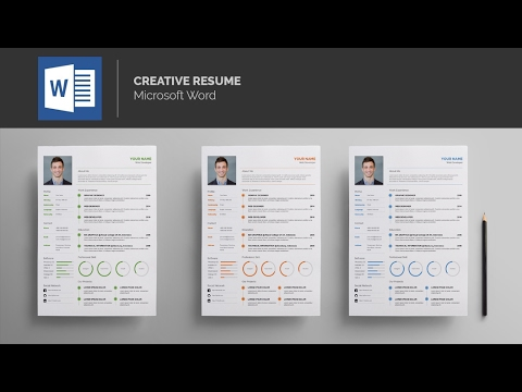 Template Resume   MS Word   YouTube Template Resume   MS Word