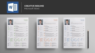 Template Resume - MS Word
