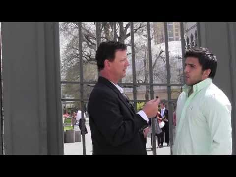 Interview with a Muslim sharing his views on Jesus. Interesting conversation..