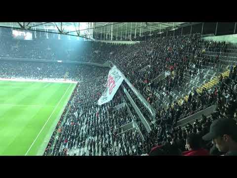 Beşiktaş-Fenerbahçe ZTK Maç Öncesi Muhteşem Atmosfer
