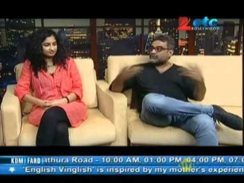 Gauri Shinde & R. Balki With Komal Nahta
