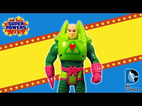 KENNER SUPER POWERS COLLECTION - LEX LUTHOR ACTION FIGURE REVIEW RECENSIONE (ita)