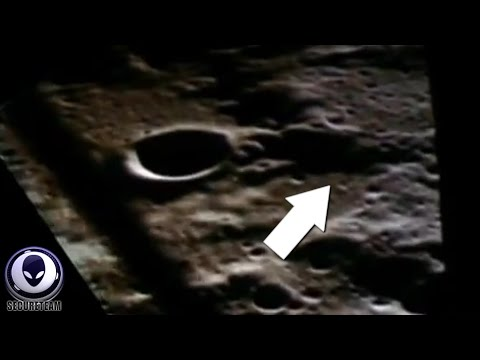 KILLER Evidence Of Aliens On The Moon In Apollo Film Footage 2/1/2016