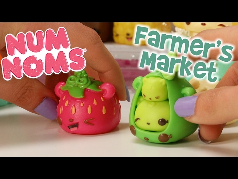 Wanda Wildberry at the Farmer's Market | Num Noms | Official Play Video