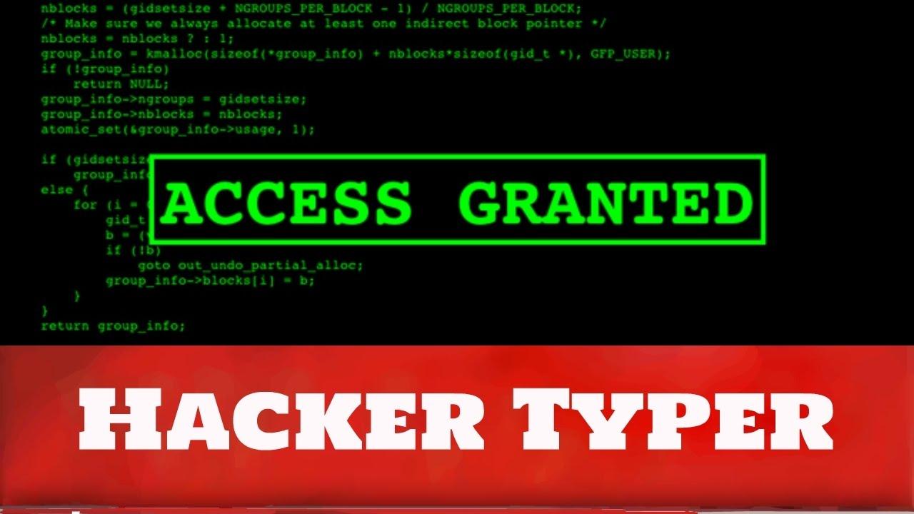 Hacker Typer - #GolfClub