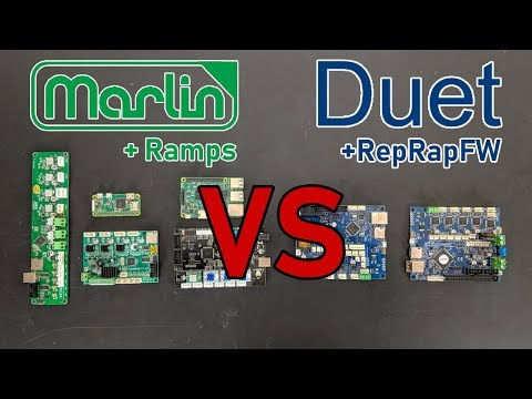 Marlin Vs. Duet - The Best Control System For 3D Printing