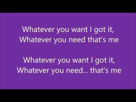 Christina Milian - Whatever You Want (Lyrics)