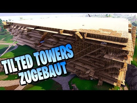 Fortnite Spielwiese Modus TILTED TOWERS ZUGEBAUT