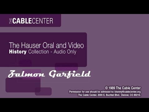 Zalmon Garfield Oral And Video History Collection