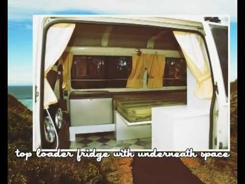 Campervan Conversion Layout For Smaller Vans By Ssc Youtube