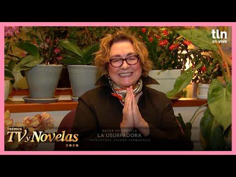 Premios TVyNovelas 2020: ¡La Usurpadora se lleva la noche con premio a mejor telenovela! | Tlnovelas