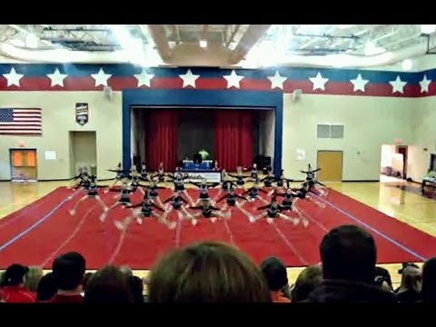 2009-2010 North Oldham Middle School Cheerleaders