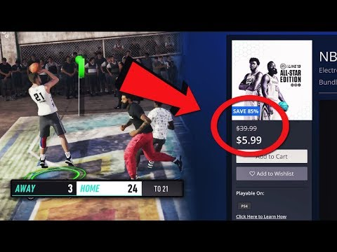 i bought NBA Live 19 for $6 and this happened....