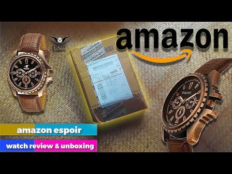 amazon-espoir-analog-watch-unboxing-and-review