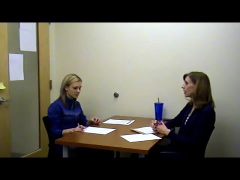 Health Promotion Class Sample Client Interview