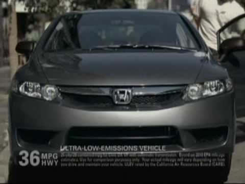 Honda Civic Commercial >> 2010 Honda Civic Commercial Youtube