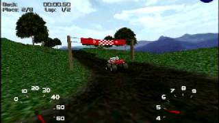 My new Monster Truck Madness 2 Track