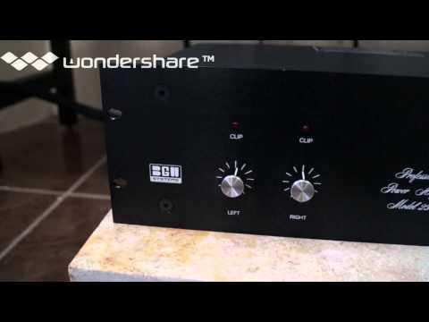 amplificador bgw 250c dynaudio 52sc
