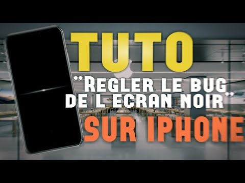 tuto r soudre le probl me de l 39 cran noir sur iphone ipad ou ipod version 2018 youtube. Black Bedroom Furniture Sets. Home Design Ideas