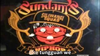 OTEWE ok tungguan we#SUNDANIS FT MIWAH THATIE karaoke with lyrics