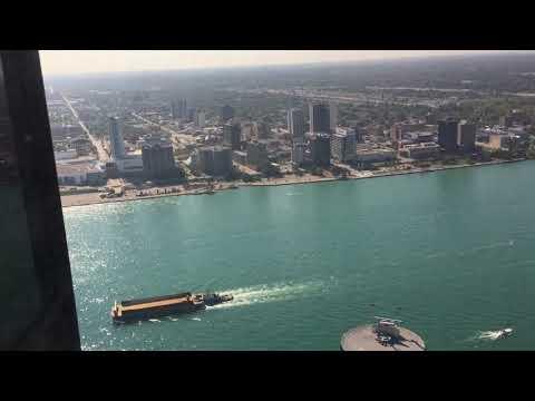 Detroit Marriott Penthouse 3 Bedroom Suite Part 3