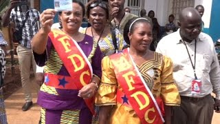 AFDC: ENRÔLEMENT DE MADAME GHISLAINE KENGE A BUTEMBO AU NORD KIVU