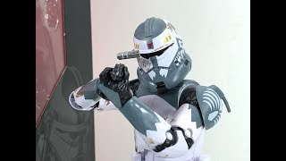 Star Wars 6 Inch Clone Commander Wolffe Chefatron Toy Review