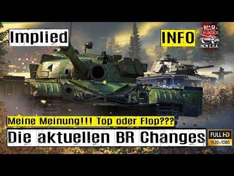 War Thunder INFO VIDEO die aktuellen BR Anpassungen sind TOP oder FLOP?