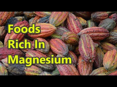 Top 10 Foods Rich In Magnesium