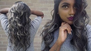 BLACK TO SILVER HAIR : My Experience, How to Tone Your Hair at Home,  Maintaining