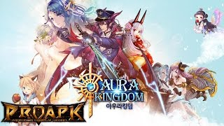 AURA KINGDOM Mobile Gameplay Android / iOS (Open World MMORPG) (KR)