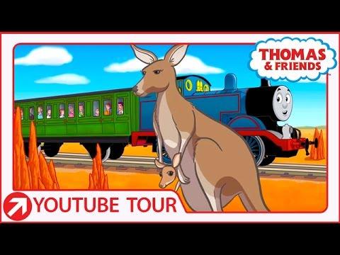 Thomas' Kangaroo Adventure In Australia | Thomas & Friends
