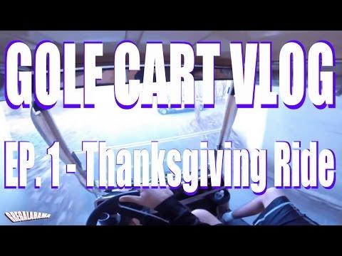 Golf Cart Vlog Ep. 1.  Peachtree City GA
