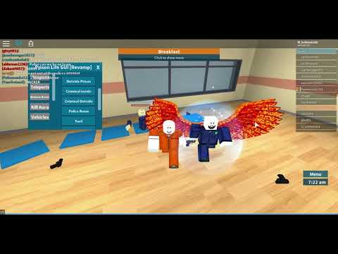 Roblox Exploiting|Triggering People on Prison Life