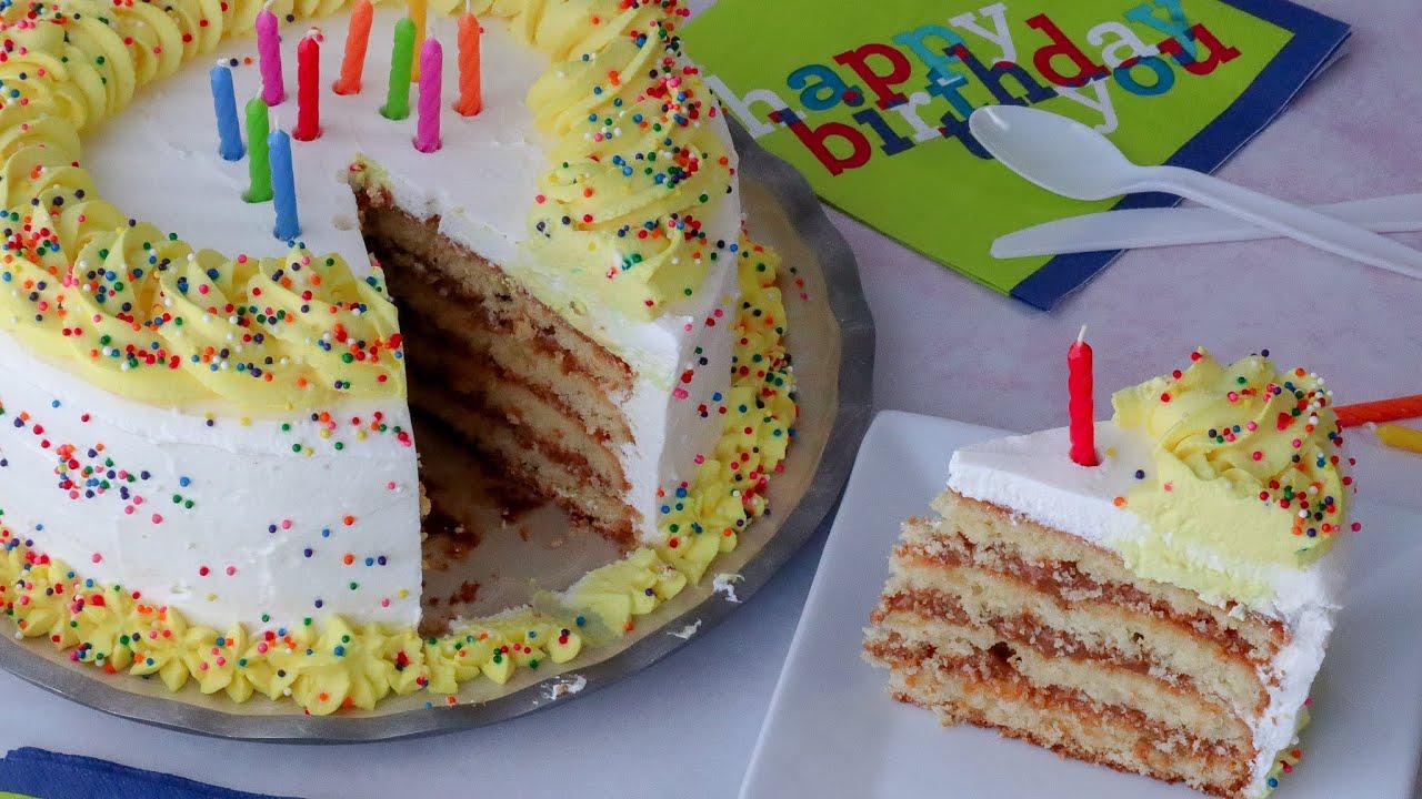 Pastel De Cumpleaños Casero Youtube