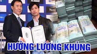 🔴Choáng với số tiền lương khủng của Công Phượng khi đến Incheon United