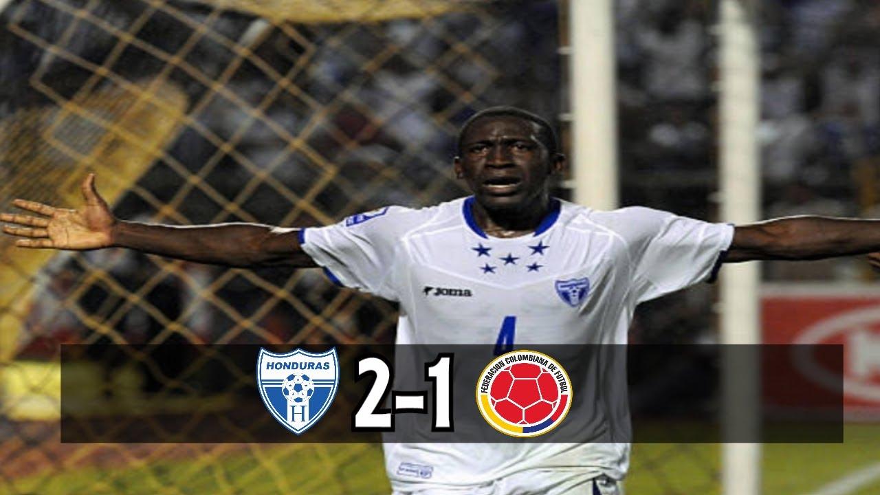 Resumen | Honduras 3-2 México - YouTube