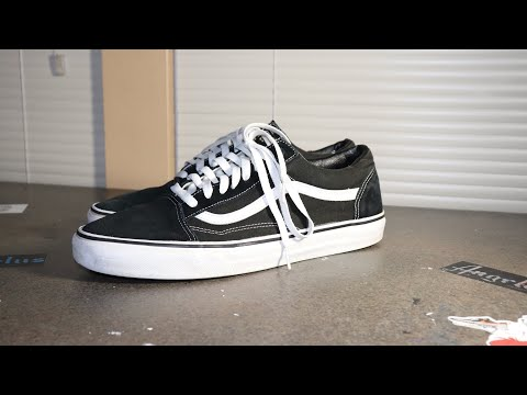 How to clean Old School Vans