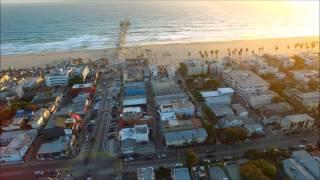 AERIAL-The VENICE CANALS California-Home Of The DOORS-4K HD DJI Phantom P3P