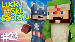 Lucky Sky Factory [23] - FERTILISING THE LAND!  (with SolidarityGaming)