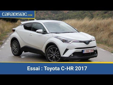 Essai Toyota C-HR 2017 - Arme de conquête
